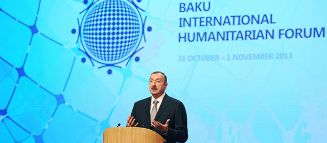 "SPAIN – Prof. Enric Olivé Serret Universidad Rovira i Virgili, Participated in ""Baku International Humanitarian Forum"""