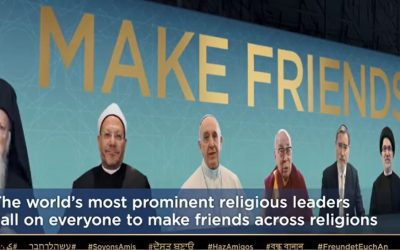 Dr. Alon Goshen, UNESCO Chair in Interfaith Studies, World's Most Prominent Religious Leaders Call People to Friendship.