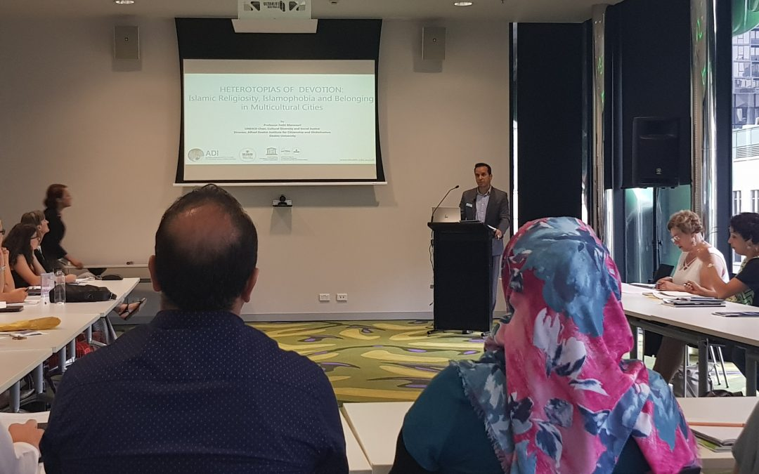 Advancing conceptual understanding of Islamophobia in Australia: RMIT workshop