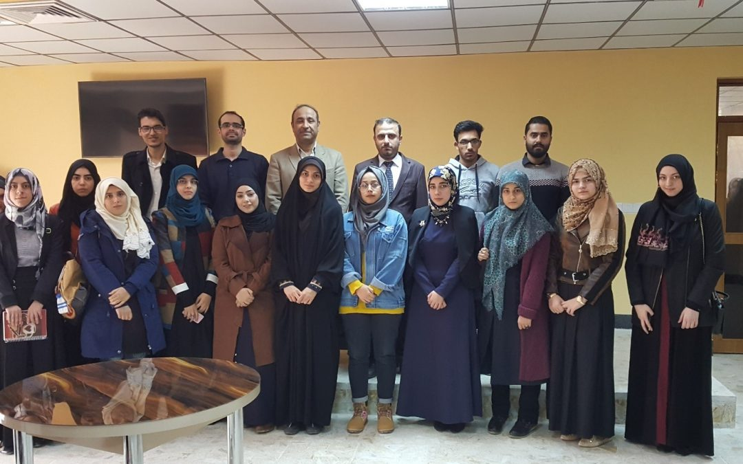 Workshops – University of Kufa, Iraq