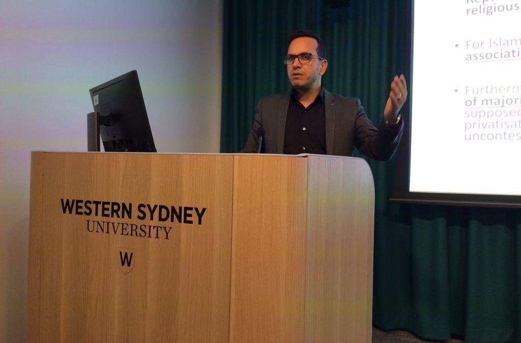 Religion and Race/ialisation in Australia