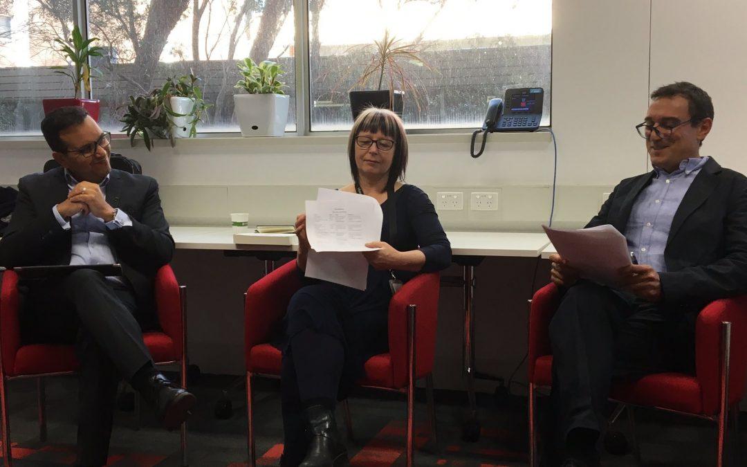Professor Fethi Mansouri, in conversation with Professor Ricard Zapata Barrero