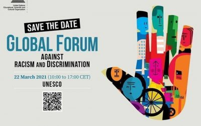 Save the Date for the UNESCO Global Forum on Racism and Discrimination